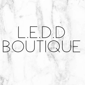 L.E.D.D BOUTIQUE ITEMS